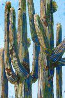 "Skyscraper Diane F Barbee 72"" x 48"" acrylic on canvas $8000"