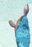 "Prickly Sherri Belassen 26"" x 18"" oil on canvas"