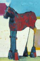 "Outback Sherri Belassen 36"" x 24"" oil on canvas $5800"