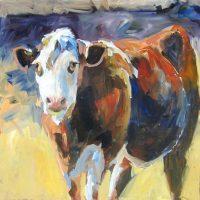 "Chuck D.J. Berard 24"" x 24"" acrylic on canvas $550"