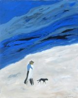 "September Karen Bezuidenhout 60"" x 48"" acrylic on canvas $6800"