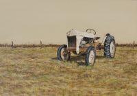 "North 40 Brian Boner 24"" x 36"" oil on canvas $1200"
