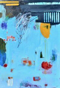 "Abejos Brenda Bredvik 60"" x 42"" oil on canvas $6300"