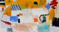 "Morning Ritual Brenda Bredvik 30"" x 56"" oil on canvas $4200"