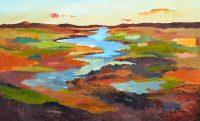 "Canyon Brenda Bredvik 44"" x 72"" oil on canvas $7900"