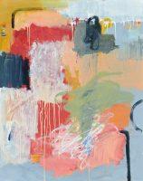 """Interpretation Brenda Bredvik 60"""" x 48"""" oil on canvas $7200"""