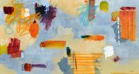 "Ruminations Brenda Bredvik  30"" x 56"" oil on canvas $4200"