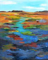 "Vista Brenda Bredvik 60"" x 48"" oil on canvas $7200"