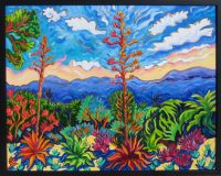 """The Beginning of the End of the Day Cathy Carey 25"""" x 31"""" oil on canvas $2150"""