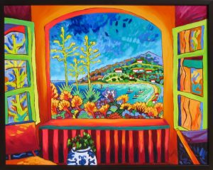 "Summer WindowCathy Carey25"" x 31""oil on canvas$2150 by"