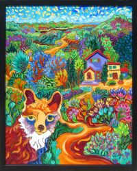 """The Journey Home Cathy Carey 31"""" x 25"""" oil on canvas $2150"""