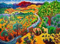 """Heartland Cathy Carey  30"""" x 40"""" oil on canvas $2860"""