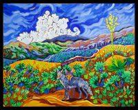 "Canyon Companions Cathy Carey 24"" x 30"" oil on canvas $2365"