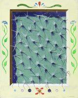 """Sonoran Window I Timothy Chapman 20"""" x 16"""" acrylic on panel $1100"""