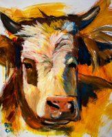 "Max Bill Colt 20"" x 16"" acrylic on canvas $275"