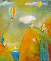 Up, Up & Away I Charles Davison mixed media $195