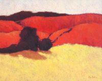 "Cool Arroyos Frances Dodd 30"" x 38"" oil on canvas $2500"