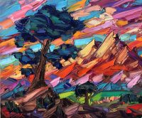 "Day Dream Greg Dye 30"" x 36"" oil on canvas $2950"