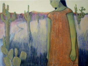 """Desert Soul by Peggy McGivern, 18"""" x 24"""", oil on canvas, $2,300"""