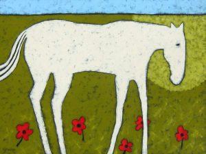 """Sweetgrass by Jaime Ellsworth30"""" x 40""""acrylic on canvas"""