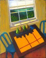 "Kitchen Shadows Judy Feldman 20"" x 16"" oil on canvas $690"