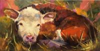 "Good Morning Sunshine Sarah Webber 12"" x 24"" oil on canvas $1495"