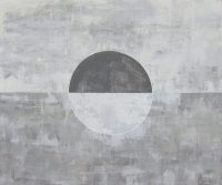 """Serene Moon Ryan Hale 60"""" x 72"""" acrylic on canvas $4950"""