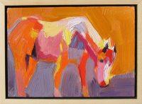 "Pony Dana Hooper  7"" x 9"" oil on canvas $650"