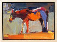 "Hobo Dana Hooper 7"" x 9"" oil on canvas $650"