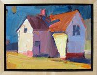 """Sweet Home Dana Hooper 7"""" x 9"""" oil on canvas $500"""
