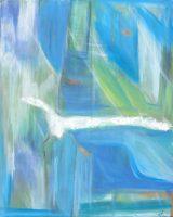 """Hope Laurelea Kim 36"""" x 24"""" oil on canvas $1100"""