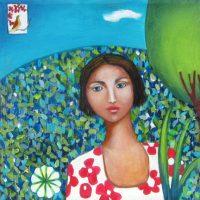 A Peaceful World Ana Marini-Genzon  acrylic on canvas