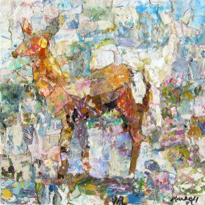 Albino Deer in Spring</em>Alyson Markell<br / >12