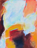"""Untitled #24 Tierney M. Miller 48"""" x 36"""" oil on canvas $3100"""