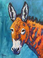 """Brayden Theresa Paden 24"""" x 18"""" acrylic on canvas $1000"""