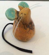 Mouse Alan Potter ceramic $28