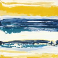 "Surfest I Christina Ramirez 20"" x 20"" acrylic on canvas $525"