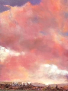 "1021 by Albert Scharf, 40"" x 30"", oil on canvas"