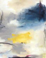 "Absolute II Monika Steiner  48"" x 36"" oil on canvas $4600"