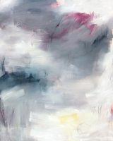 "Silent Witness I Monika Steiner  60"" x 48"" oil on canvas $6400"