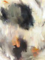 """Gesture Monika Steiner  36"""" x 48"""" oil on canvas $4600"""