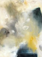 """This Moment Monika Steiner 48"""" x 60"""" oil on canvas, wood $6400"""