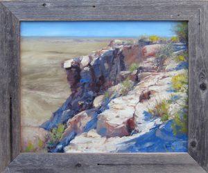 "Painted Desert by James Swanson, 29"" x 34.5"", oil on linen"