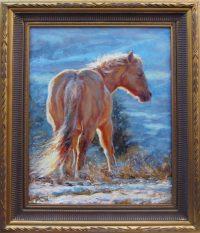 "The Wild One James Swanson 24"" x 18"" oil on linen $2550"