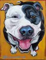 """Hardheaded Love Connie Townsend 18"""" x 14"""" acrylic on canvas $700"""