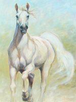 "High Hearted Chaille Trevor 40"" x 30"" oil on canvas $2000"