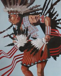 """Traditions Peggy Judy 60"""" x 48"""" oil on canvas $13,000"""
