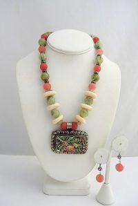 Flying Dragon's - Set of 2 Necklace/Earrings Adriana Walker $248