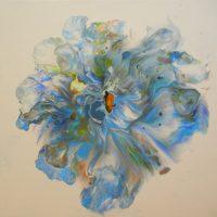 "Daisy Adriana Walker 12"" x 12"" acrylic on canvas $150"