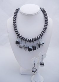 Cubist - Necklace and Earrings Adriana Walker $188